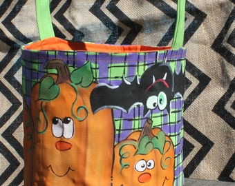 Halloween Trick or Treat Bag | Personalized Bag | Gift Bag | Treat Bag | Halloween Party Decoration | Halloween Decoration