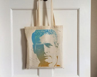 Paul Newman Tote Bag - Icon Pop Art