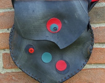 Recycled inner tube bag