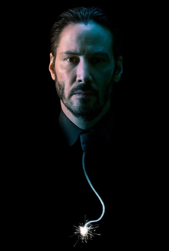John Wick Keanu Reeves  Poster Key Art  V2