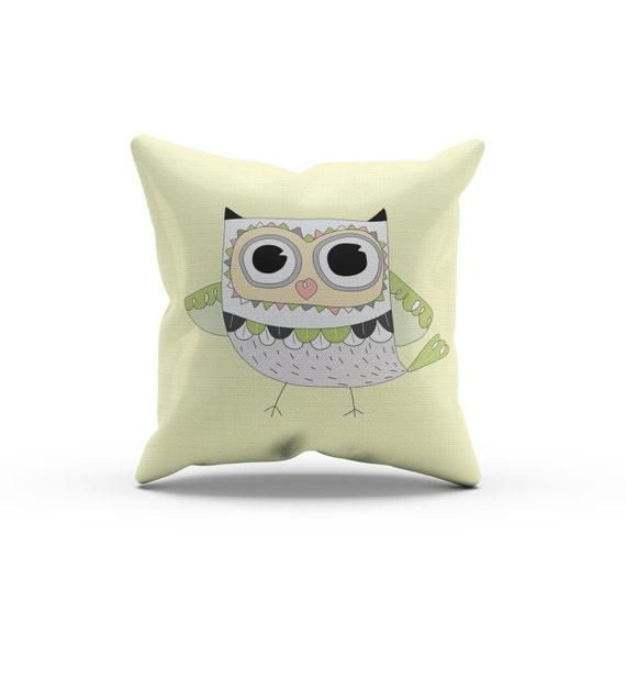 Throw Pillow Vendors : Owl Pillow, Nursery Pillow,Throw Pillow, Kids Throw Pillow, Children s Owl Pillow, Owl Nursery ...