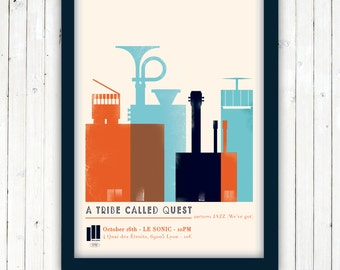 A TRIBE CALLED QUEST - Jazz ( We've got) poster - 1991