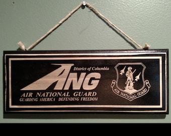 Air National Guard Retirement Wall Sign
