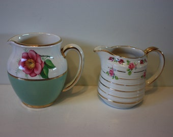 Set of 2  Sadler Creamers (will also sell separately)