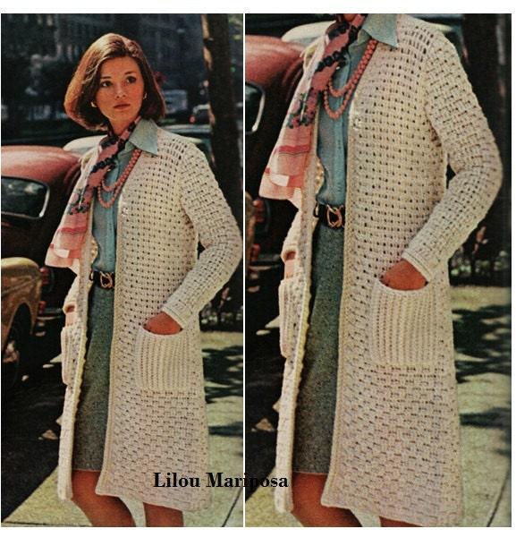Free Crochet Patterns For Women s Coats ~ Pakbit for .