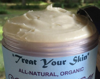 NEW SCENTS!! All-Natural Organic ULTIMATE Whipped Body Butter with Shea & Vitamin E. Pick Size / Scent!