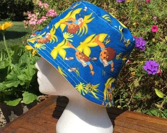 Diego Hat Reversible Bucket hat. Bucket hat. Beach hat. Sun Hat.