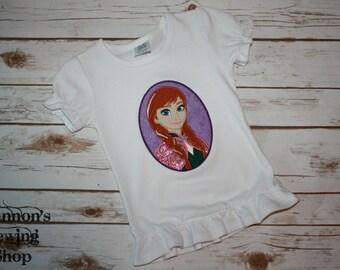 """Frozen """"Anna"""" Shirt"""