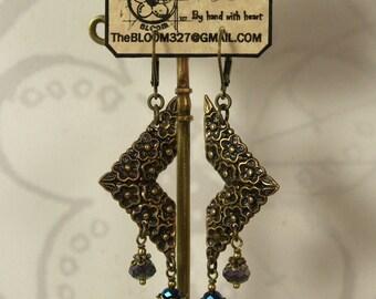 Handmade Wearable Art, Earring Jewelry