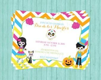 SALE 50% OFF Dia de los Muertos - Halloween - Party - Birthday