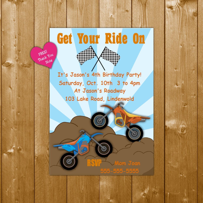 Boy invitation funpartysupply dirt bike invitation dirt bike party invitation instant download editable text dirt bike invite for birthday party filmwisefo
