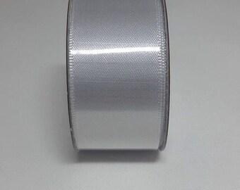 3 Metres Christmas Silver Ribbon 25mm, Christmas Ribbon, 25mm Silver Ribbon, Ribbon Satin Ribbon 25mm Silver Satin Ribbon 25mm