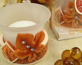 Autumn Themed Tealight Holder