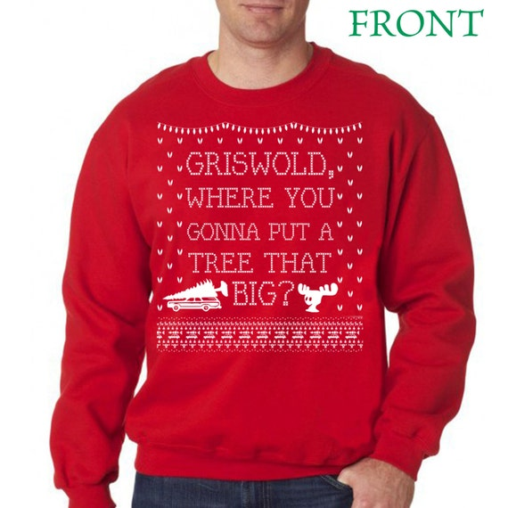 Griswold Christmas. Ugly Christmas Sweater. Ugly Sweater