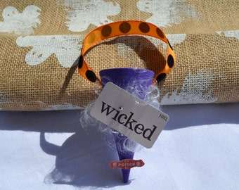 Wicked Halloween Cone Ornament