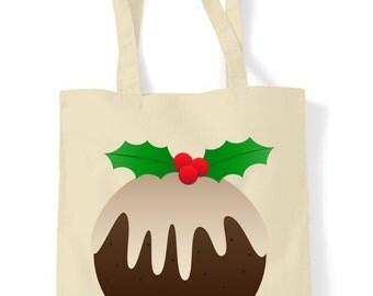 Christmas Pudding Christmas Shoulder Bag
