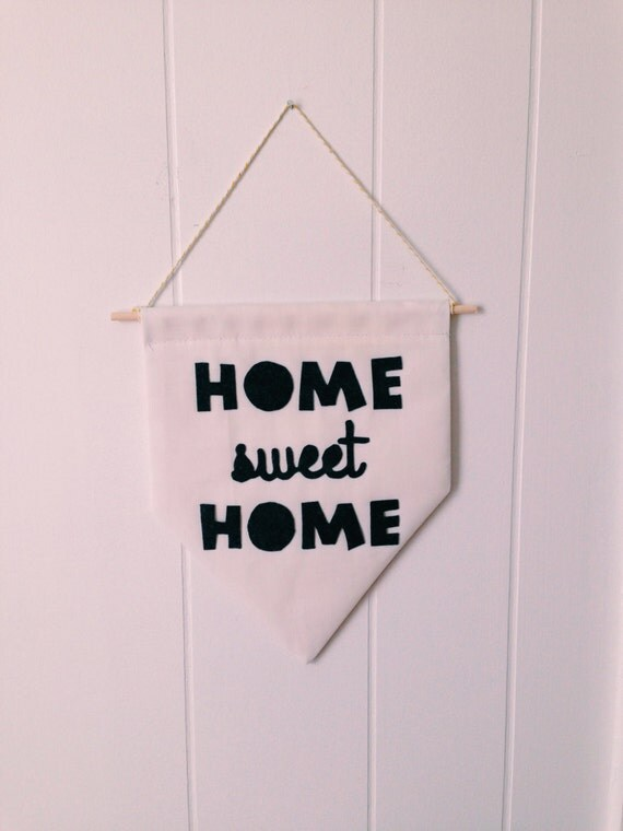 Home Sweet Home Decor Home Sign Home Office Desk By