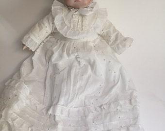 Vintage Bye-Lo Grace S.Putnam Bisque Doll  / Reproduction