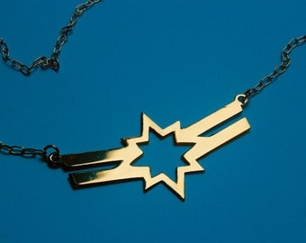 CAROL DANVERS Captain Marvel Carol Corps inspired necklace - 4 colors available
