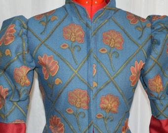 Tudor. Gown, Renaissance Dress, Masquerade, movie, theatre, Historical