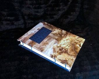 Lord of the Rings Journal Upcycled Alan Lee Recycled Dust Jacket Book Cover Journal Diary Reception Book Birthday Present Guest Book