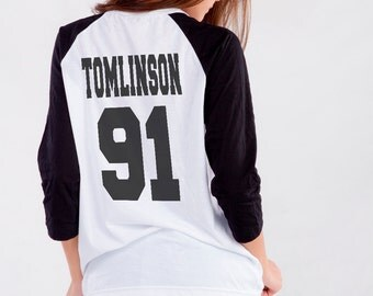 Louis Tomlinson Shirt graphic tee women Baseball Shirts Tshirt Women birthday gift for best friends printed t-shirts