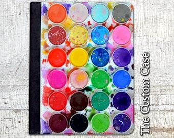 Watercolor Palette Ipad Case, Artist'd Ipad Case, Paint Palette Ipad Case, Ipad 2/3/4 Case, Ipad Air 1/2 Case, Ipad Mini Case1/2/3/4