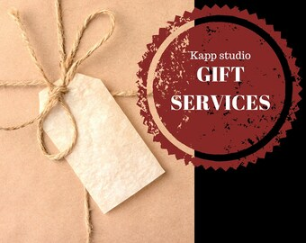 Gift? Have it wrapped & include a card