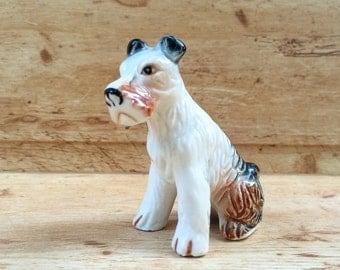 Vintage dog - Soviet Porcelain - Soviet figurine - Animal statuette - Ceramic dog - Dog figurine