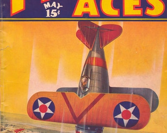 1937 Flying Aces May Airplanes