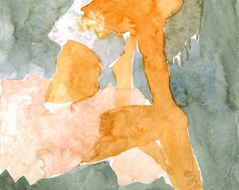 Original - Watercolor painting on paper - 13,8X18,8cm - 2011