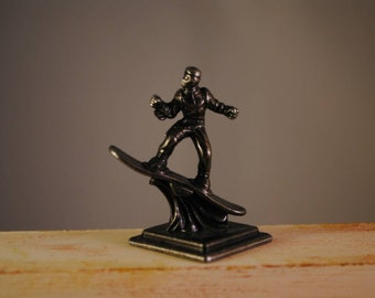 Marvel spiderman.green goblin..pewter,metal, small miniature ,collectible