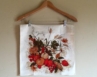 Vintage Harvest Pure Linen Tea Towel by Luther Travis for Fallani & Cohn