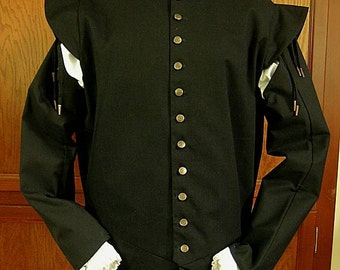 Fencing Doublet with Tie-On Sleeves - Gipsy Peddler SCA Rapier Armor