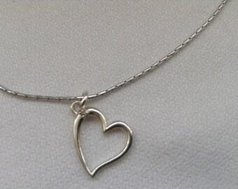 Diamond pendant. Heart pendant. Swirl pendant. Amethist pendant