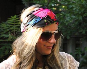 Buy 2 Get 1 Free! (Mix earrings & headbands) Lotus, Yoga Headband, Running Headband, Workout Headband, Turban Headband