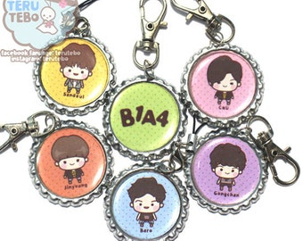B1A4 kpop solo day chibi charms / phone charm / keychain / necklace