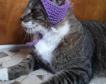 Mohawk Cat Hat, knit hat for cat