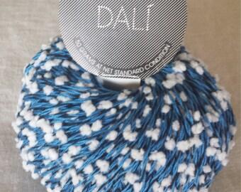 Dali' by Filatura Di Crosa Yarn Color 44 Blue/White