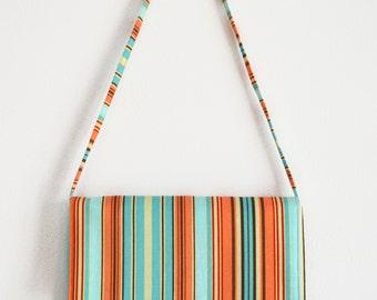 Clutch Bag, Striped Clutch bag, Clutch Purse, handbag, Clutch bags, Clutch Handbag. Rowan Belle Stripe.