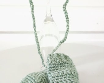 Newborn Baby Mittens, or Mittens Decor, Hand Crocheted