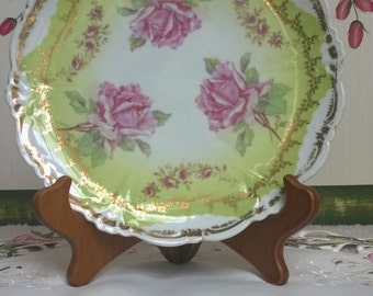 Vintage Imperial China of Austria Rose Plate