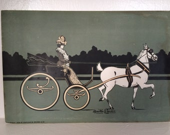 1902 Hamilton G Jacobs Arts & Crafts Print