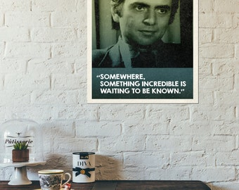 Carl Sagan Quote Retro Style Poster - Instant Download -Collect the set!