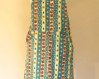 MINI PINI 1990's super sassy novelty print dress: UK 8 - 10 / Small