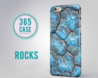 Hard Case iPhone 6 case iPhone 6S Case Hard Plastic Case Stone iPhone 6 Plus Case Blue Stone iPhone 4S case iPhone 5C case Hard Plastic Case