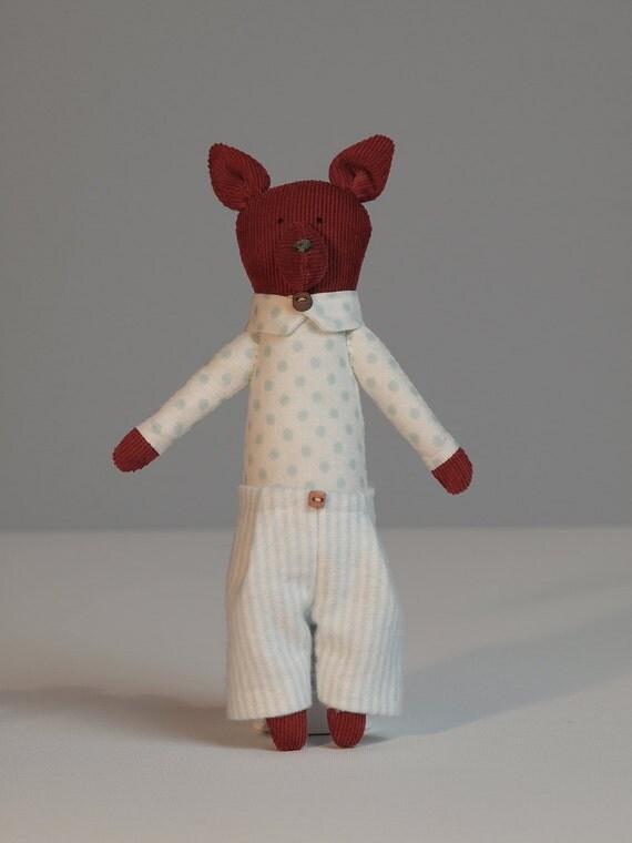 Fox doll - Charlie Fox
