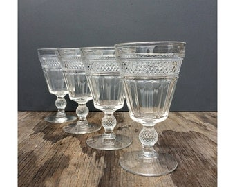 Thistle Goblets - Set of 4 - Thistle Glasses