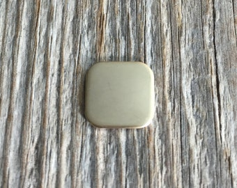 Gold Fill Round Corner Square 20g 3/4 inch
