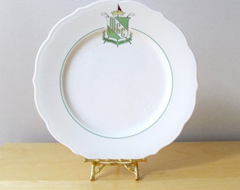 Minneapolis Golf Club collectible vintage syracuse china dinner plate